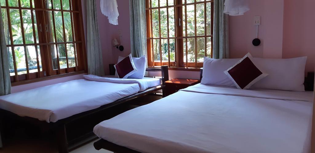 Giường nệm êm ái , không gian trong lành và yên bình rất thích hợp cho nhu cầu nghỉ dưỡng của du khách