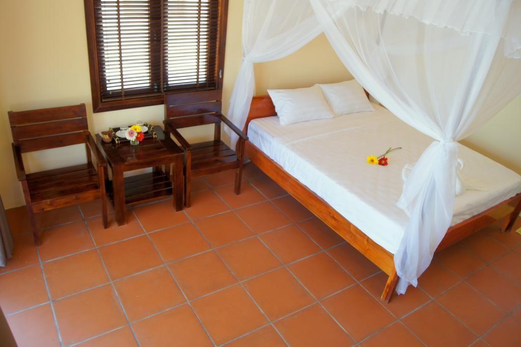 Thiết kế đơn giản nhưng gây được ấn tượng riêng với khách nghỉ tại Bungalow Phú Quốc có bãi tắm riêng - Gold Sand Beach
