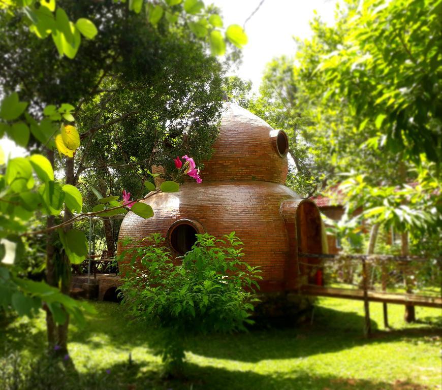 Phòng Hồ Lô với lối kiến trúc sáng tạo, ngộ nghĩnh. 3 phòng ngủ rộng rãi cho du khách
