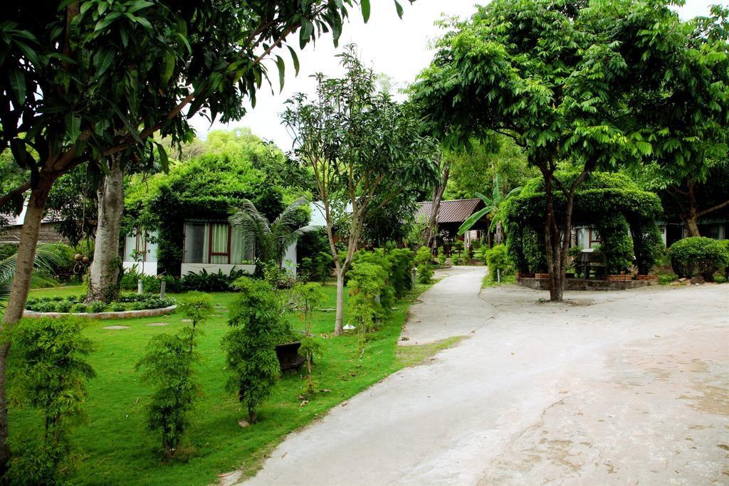 Các lối đi được bao phủ bởi các hàng cây xanh trong lành, mát mẻ và thoáng đãng