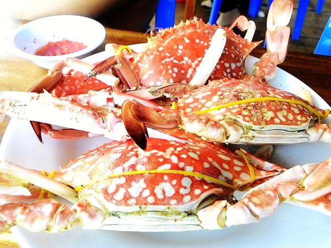 Ghẹ Hàm Ninh - Món hải sản nổi bật nhất của người dân vùng biển