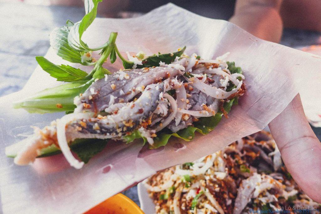 Gói cá trích - Món ăn là nghiền của người dân Phú Quốc và khách du lịch