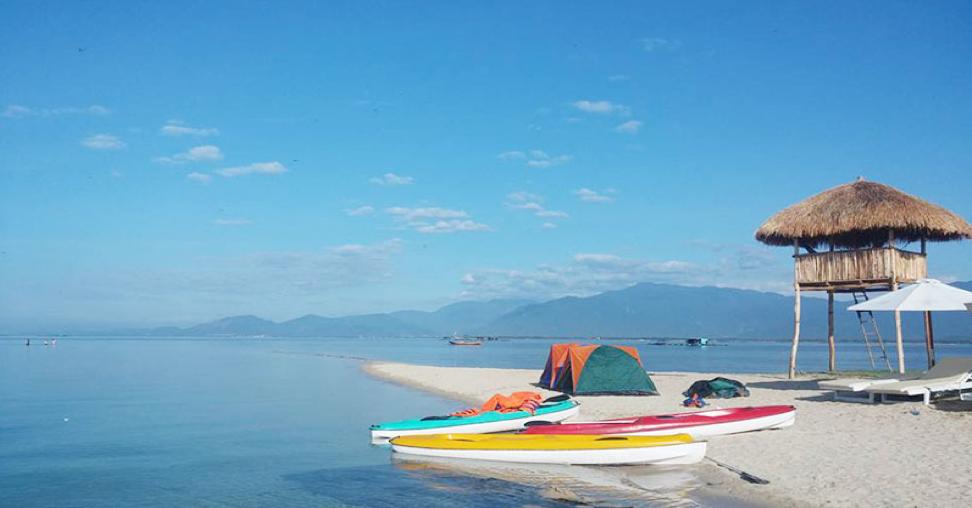 Chèo thuyền Kayak và khám phá toàn bộ vẻ đẹp của đảo Điệp Sơn