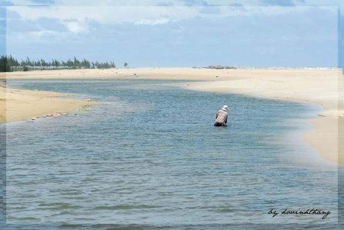 Biển Ba Động với những nét hoang sơ cho bạn khám phá