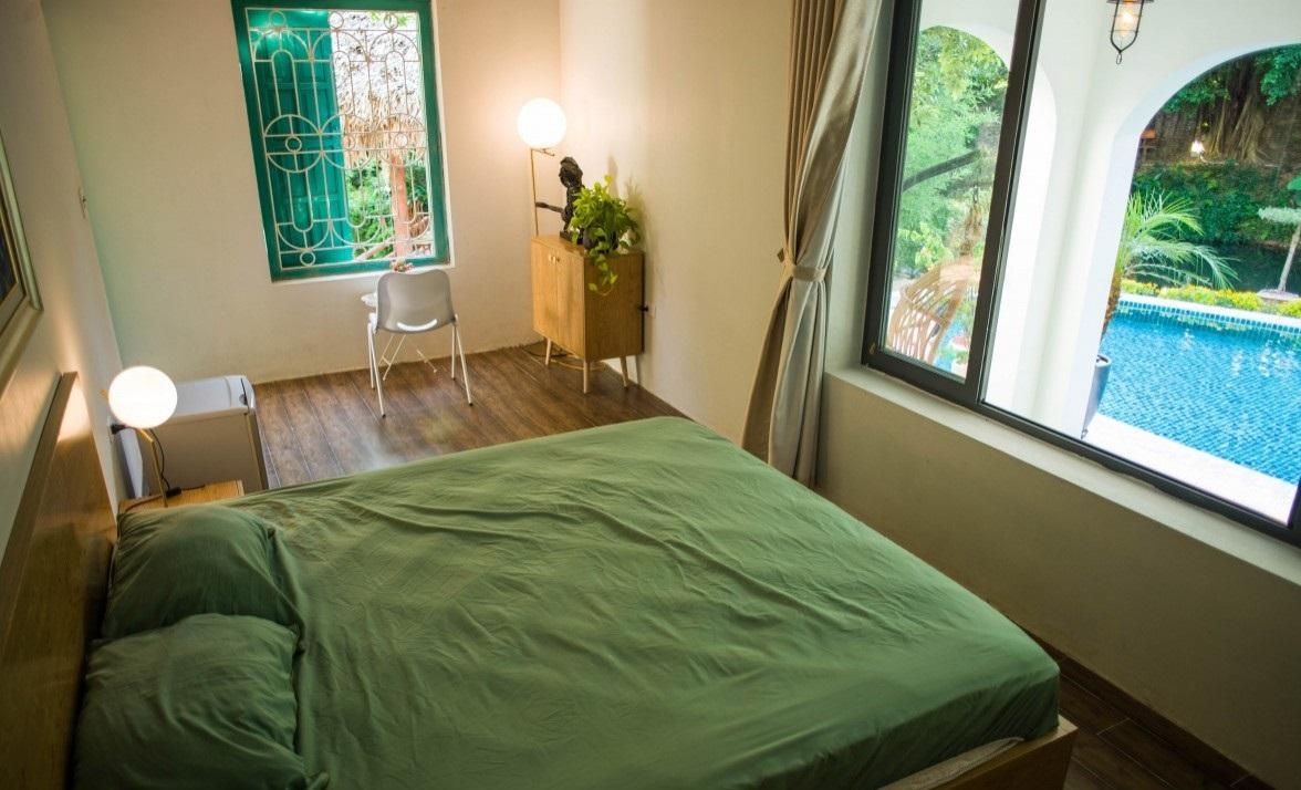 Không gian phòng ngủ ấm cúng - Villa tại Sóc Sơn, Hà Nội