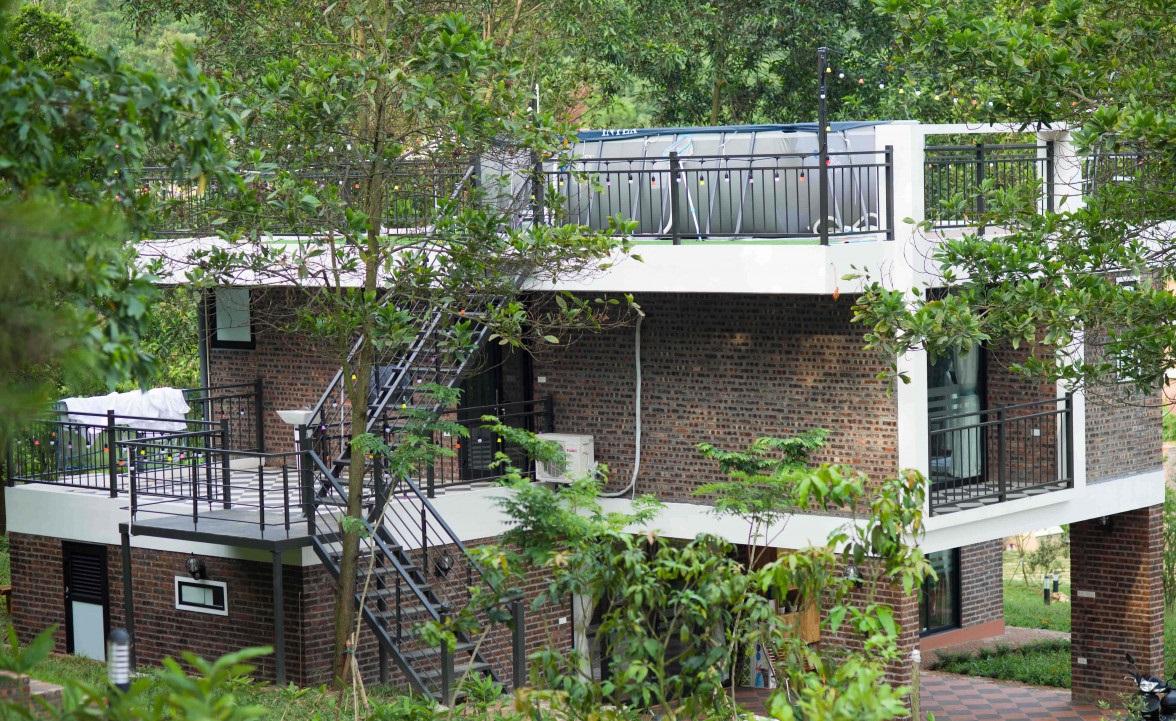 Kiến trúc độc đáo của Homie - Villa tại sóc Sơn, Hà Nội
