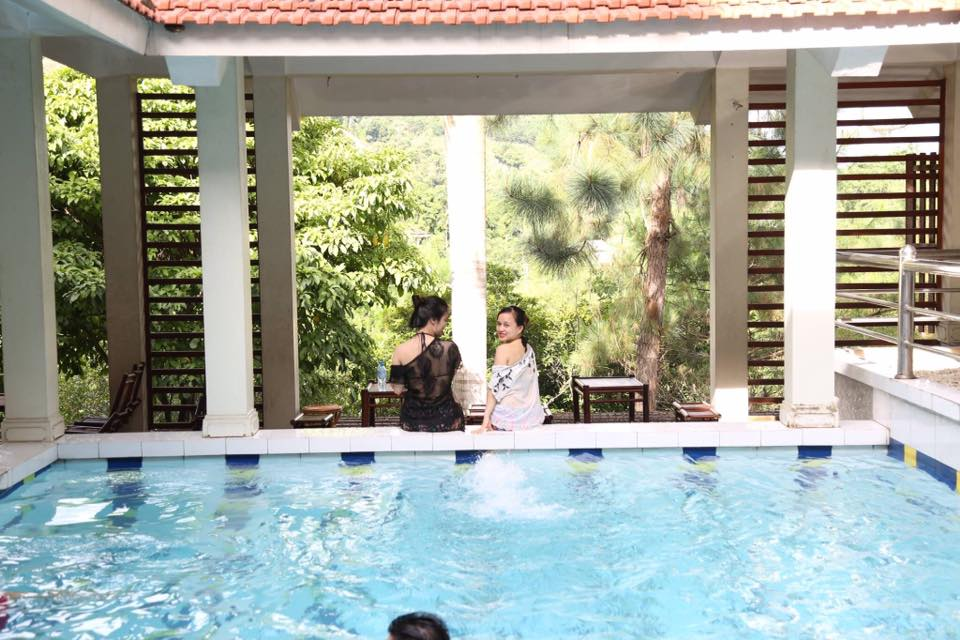Không gian bể bơi tại Green Hill - villa tại Thạch Thất, Hà Nội