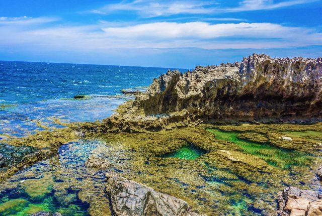 Khung cảnh hoang sơ đẹp đến nao lòng của hang Rái