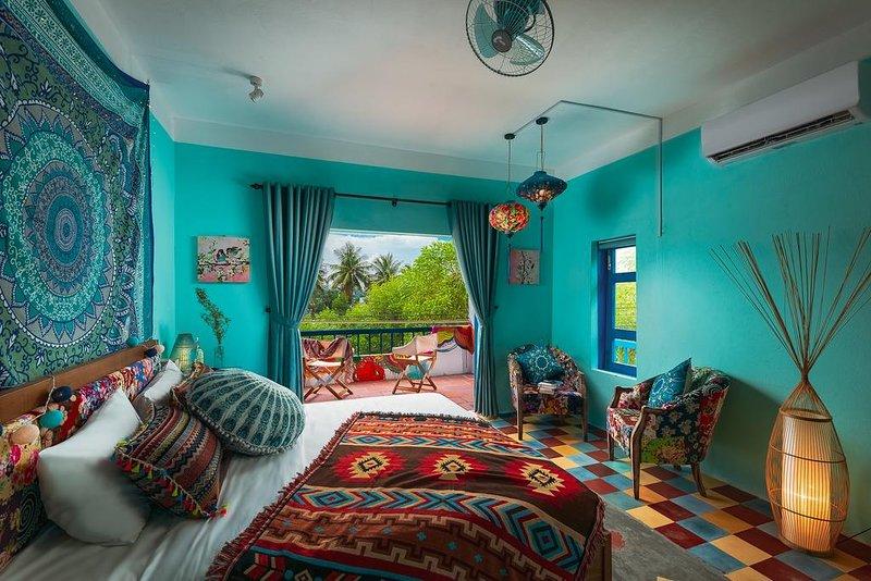 AnnaBo Tam Thanh Beach House được thiết kế với phong cách độc đáo
