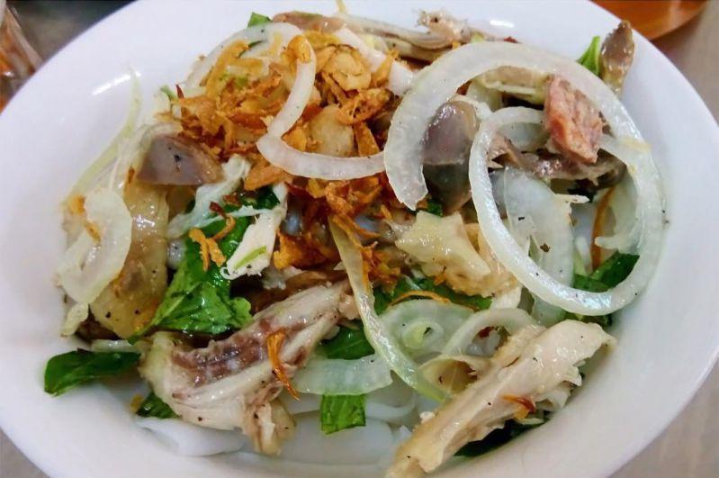 Bánh ướt lòng gà - Đặc sản Lâm Đồng