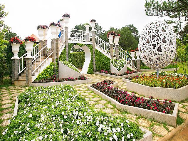 Tung lũng tình yêu Đà Lạt - điểm check in nổi tiếng của các bạn trẻ khi du lịch Lâm Đồng